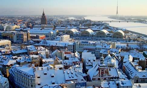 Riga om vinteren