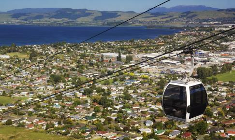 Kabelbane i Routorua - Risskov Rejser