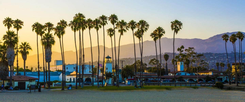 Santa Barbara Beach, Californien USA - Risskov Rejser