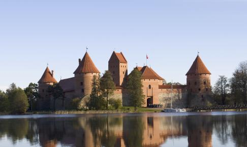 Trakai-slottet fra 1300-tallet - Risskov Rejser