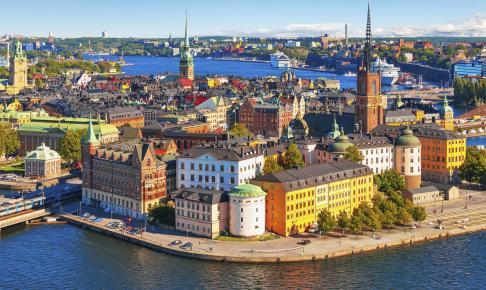 Panorama af Stockholm - Sverige - Risskov Rejser