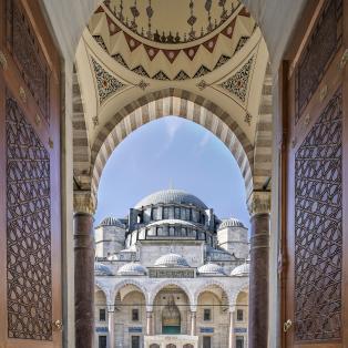 Suleymaniye Moskeen - Istanbul, Tyrkiet - Risskov Rejser