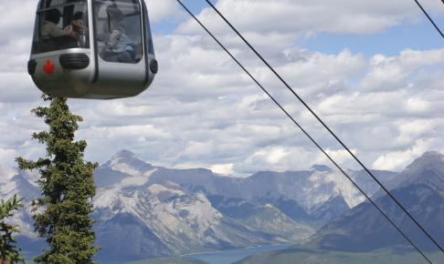 Svævebane over Sulphur Mountain - Risskov Rejser