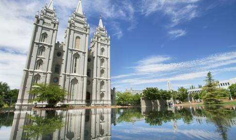 Temple Square i Salt Lake City - Risskov Rejser