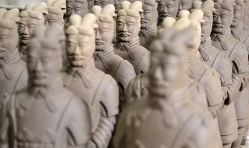 Terrakottahæren, Xi-an, Kina