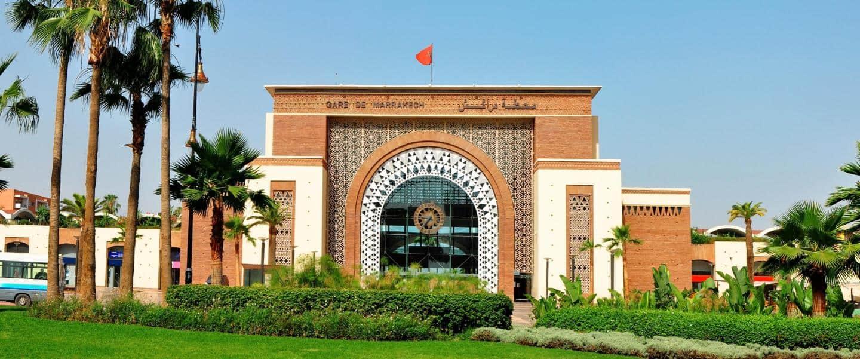 Togstationen i Marrakech - Risskov Rejser