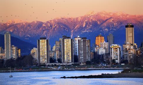 Vancouvers flotte skyline - Risskov Rejser