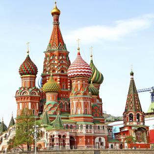 Vasilij Katedralen - Moskva - Risskov Rejser