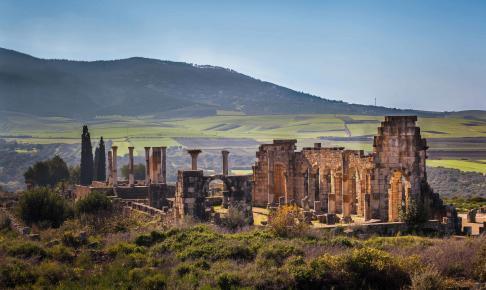 De UNESCO-fredede romerske ruiner, Volubilis - Risskov Rejser
