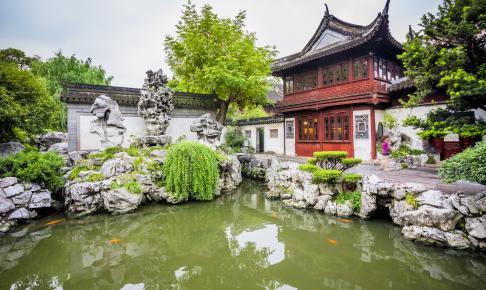 Yu Garden i Shanghai