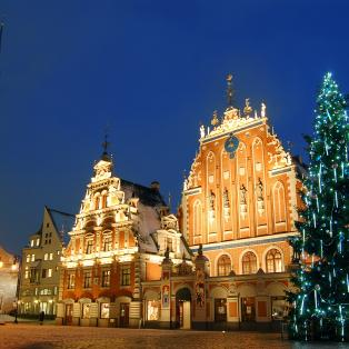 Riga before Christmas