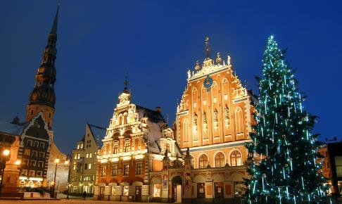 Riga before Christmas