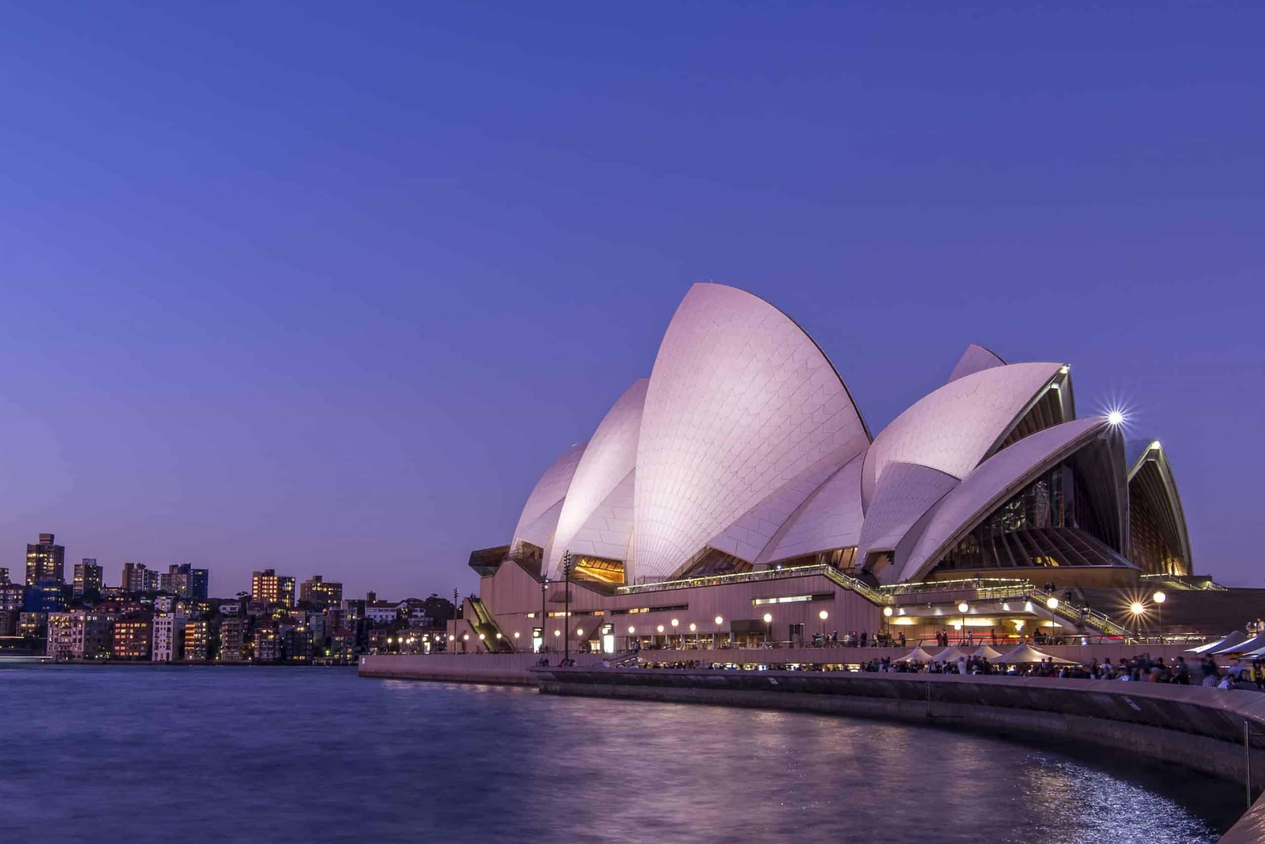 Operahuset i Sydney, Australien - Risskov Rejser