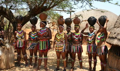 Lokale indfødte - Swaziland - Risskov Rejser