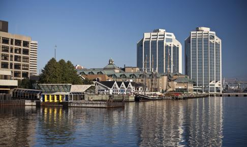 Landskab af Halifax Waterfront