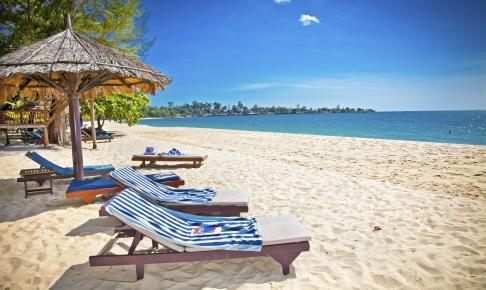 Stranden i Sihanoukville