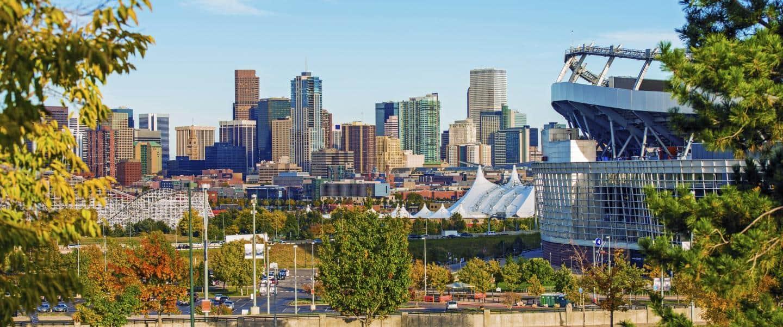 Udsigt ud over Denver - USA