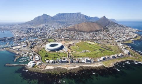 Luftfoto af Cape Town - Risskov Rejser