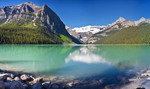 Lake Louise i foråret - Canada - Risskov Rejser