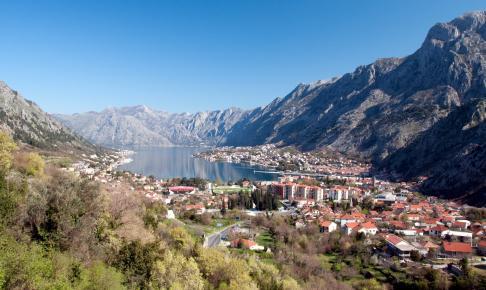 Kotor bay of Montenegro - Risskov Rejser