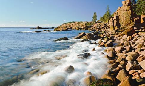 Maines kystlinje - Risskov Rejser