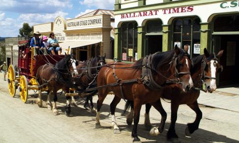 Sovereign Hill i Ballarat