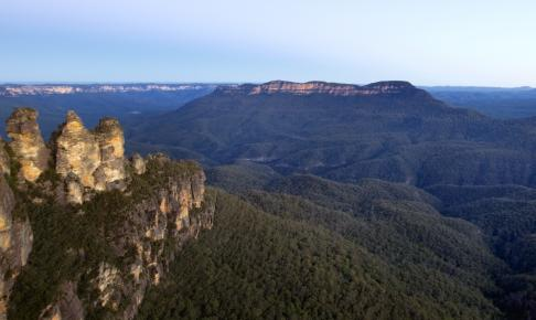 Nationalparken Blue Mountains i New South Wales