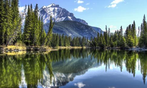 Bow River, Banff National Park - Risskov Rejser