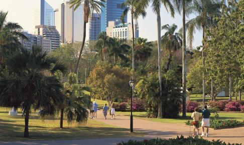 Den Botaniske Have i Brisbane