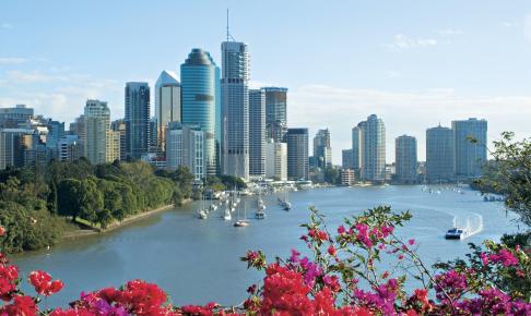 Brisbane skyline - Risskov Rejser