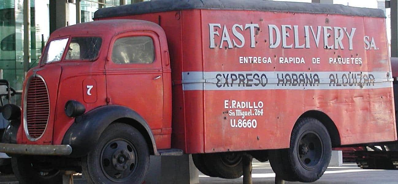 Gammel lastbil, Cuba