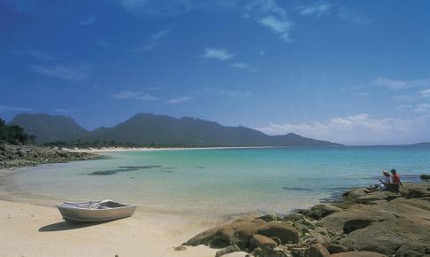 Coles Bay på Tasmanien