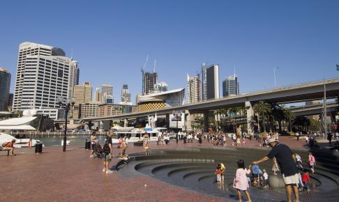 Darling Harbour i Sydney - Risskov Rejser
