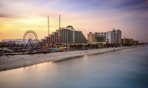Stranden i Daytona - Florida - Risskov Rejser