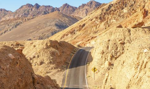 Death Valley er et af de mest barske naturområder i USA - Risskov Rejser