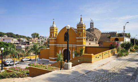 Den ældste kirke i Lima, Peru - Risskov Rejser