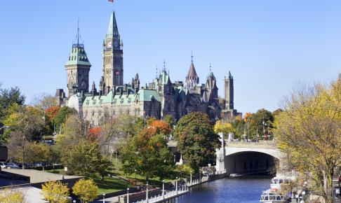 Det Canadiske Parlement i Ottawa - Risskov Rejser