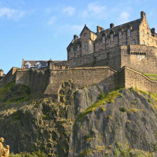 Edinburgh Castle, Skotland,