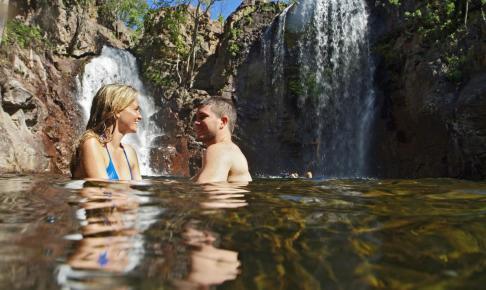 Florence Falls i Litchfield National Park - Risskov Rejser
