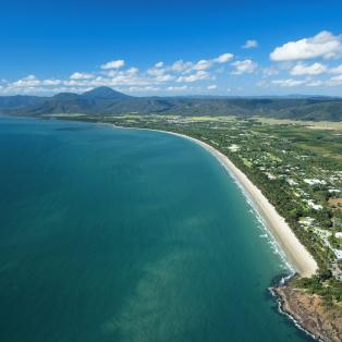 Four Mile Beach i Port Douglas