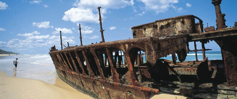 Maheno Faser Island