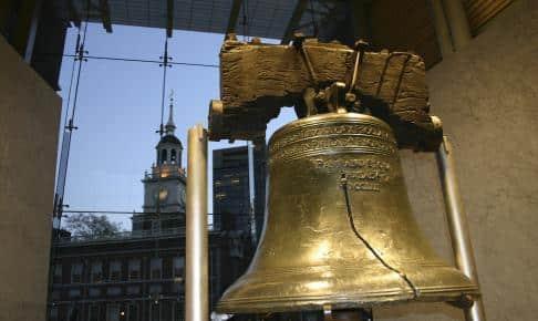 Frihedsklokken i Philadelphia