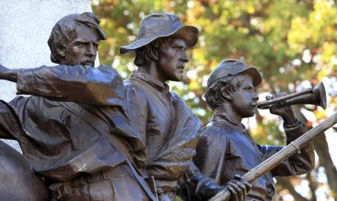 Gettysburg statue - Risskov Rejser