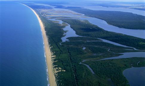 Gippsland Lake ved Lakes Entrance, Australien - Risskov Rejser