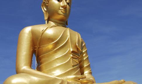 Gylden Buddha - Risskov Rejser