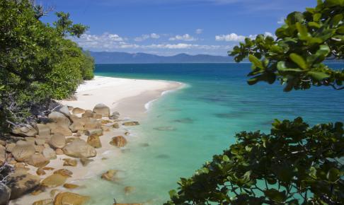 Skønne strande i Queensland