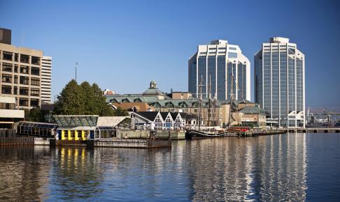 Halifax havnefront - Risskov Rejser