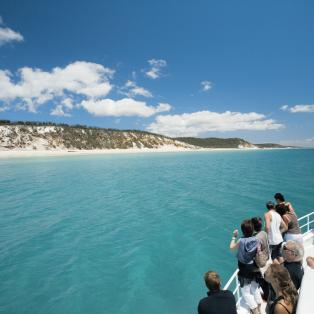 Hervey Bay ved Fraser Island