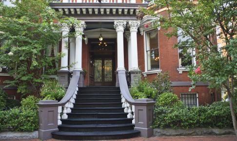 Historisk bygning i Savannah