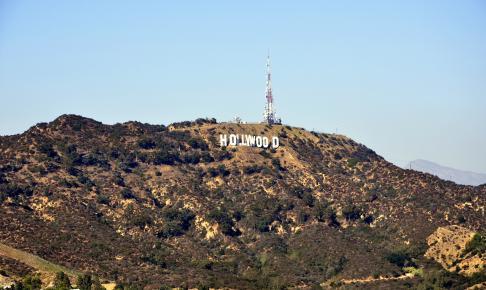 Hollywood skiltet i Los Angeles - Risskov Rejser